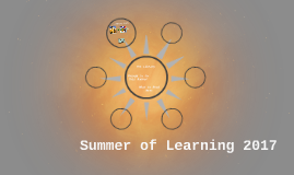 Summer of Learning 2017
