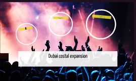 Dubai costal expansion