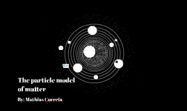 The particle model of matter