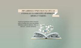 Copy of DESARROLLO PSICOSOCIAL DE LAS ETAPAS EN LA ADULTEZ TEMPRANA,