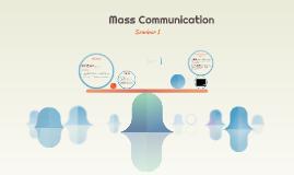History of Mass Communication & Culture