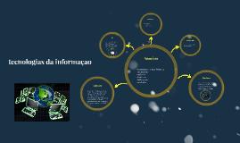 comunicaçao e tecnologias da informaçao