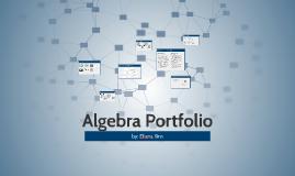 Algebra Portfolio