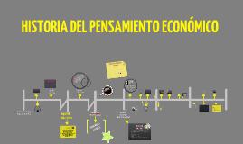 Copy of Linea tiempo historia pensamiento económico