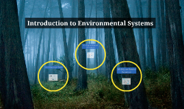 Introduction to Environmental Systems