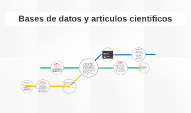Bases de datos y articulos cientificos