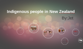 Indigenous people in New Zealand