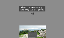 Why Democracy is Terrible