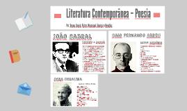 Literatura Contemporânea – Poesia