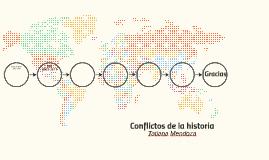Conflictos de la historia