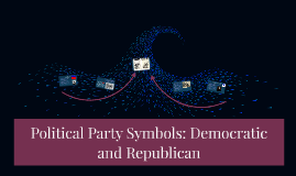 Political Party Symbols: Democratic and Republican