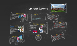 Copy of Copy of Welcome Parents!