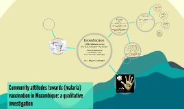 Attitudes towards (malaria) vaccination in Mozambique