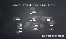 Tableau Introduccion a los Datos