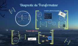 Diagnostic du transformateur