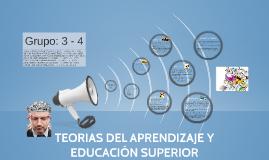 TEORIAS DEL APRENDIZAJE EN EDUCACIÓN SUPERIOR