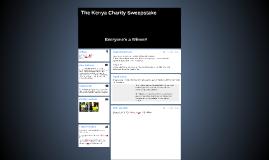 The Kenya Charity Sweepstake