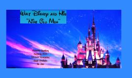 "Walt Disney and His ""Nine Old Men"""