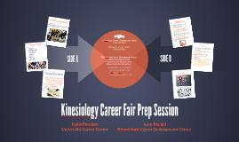 Kinesiology Fair Prep Session