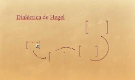 Dialéctica de Hegel