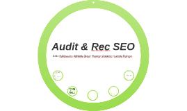 Audit & Rec SEO
