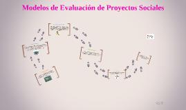 Modelos de Evaluación de Proyectos Sociales