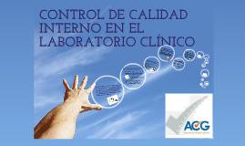 Copy of Generalidades del control de calidad interno