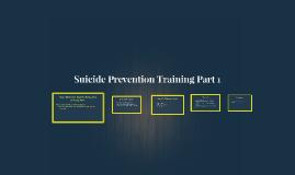 More Than Sad: Suicide Prevention Training Part 1