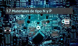 Materiales de tipo N&P