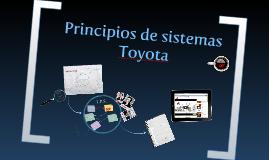 Principios de Sistemas Toyota
