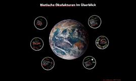Biotische Faktoren im Überblick