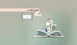 Copy of LE PRETERIT