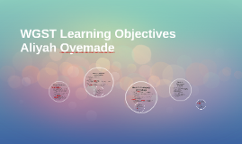 WGST Learning Objectives