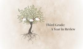 Third Grade: