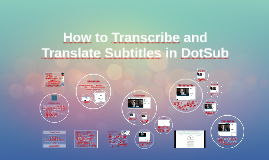 Copy of How to Transcribe and