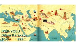 Çin'den başlayarak Anadolu ve Akdeniz aracılığıyla Avrupa'ya