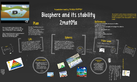Biosphere and its stability