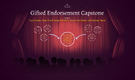 Gifted Endorsement Capstone