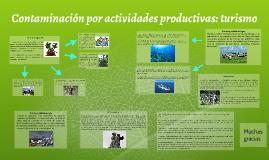 Copy of Contaminacion por actividades productivas: turismo