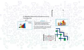 4. Métodos Matemático Estadísticos en la Investigación