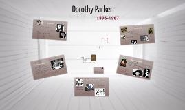 Copy of Copy of Dorothy Parker