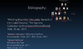 King Rama IX Family Tree