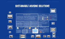 Sustainable Housing Solutions