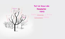 Test de Desarrollo Psicomotor – TEPSI