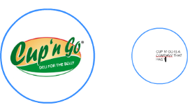 CUP N' GO IS A COMPANY THAT HAS THE MOST DELICIOUS AND FAST-