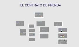 EL CONTRATO DE PRENDA