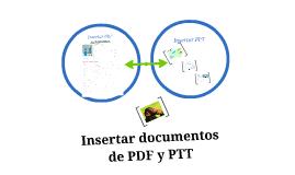 insertar PDF y PPT