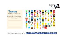 Free Prezi Design with Icons
