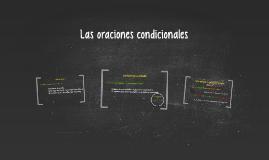 Copy of Las oraciones condicionales