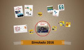 Simulado 2016